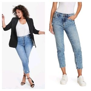 Kut from the Kloth Naomi Girlfriend Ankle Jeans 4